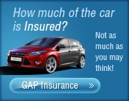 How much of the car is insured?