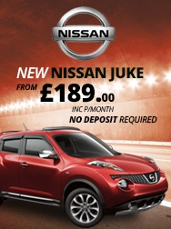 Nissan Jukes from �189.00