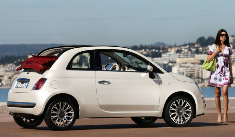 Fiat Convertible Personal Lease No Deposit Convertible - Lease fiat 500