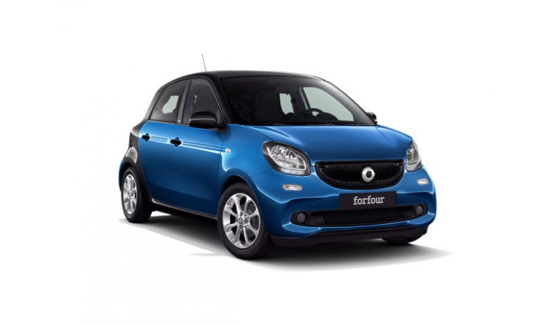 Smart ForFour Personal Lease with No Deposit