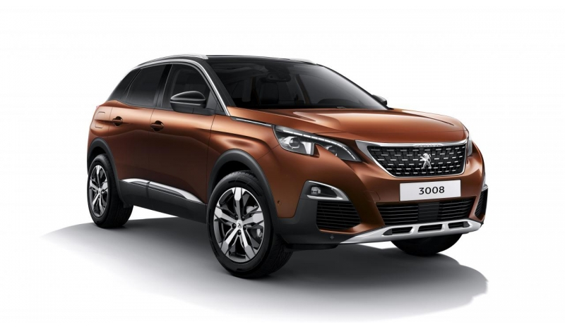 No Deposit Peugeot 3008 (New Shape)