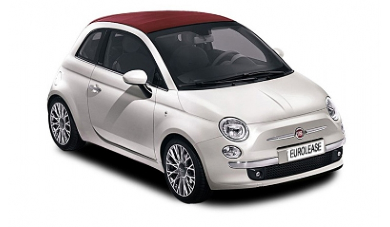 Fiat 500 Convertible 1.2 Lounge No Desposit Personal Leasing