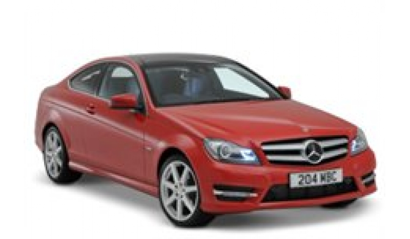 Mercedes C-Coupe 220CDI Sport AMG No Desposit Personal Leasing