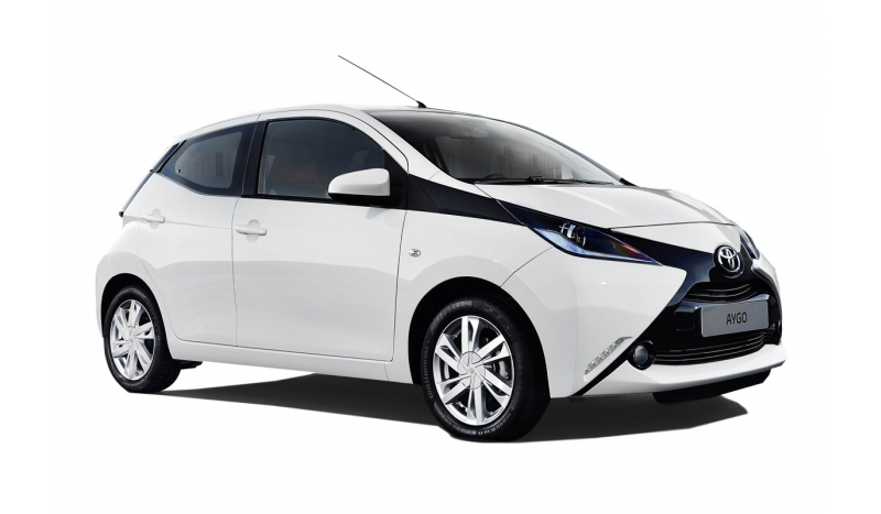 Toyota Aygo 1.0VVTi X-play 3dr No Desposit Personal Leasing
