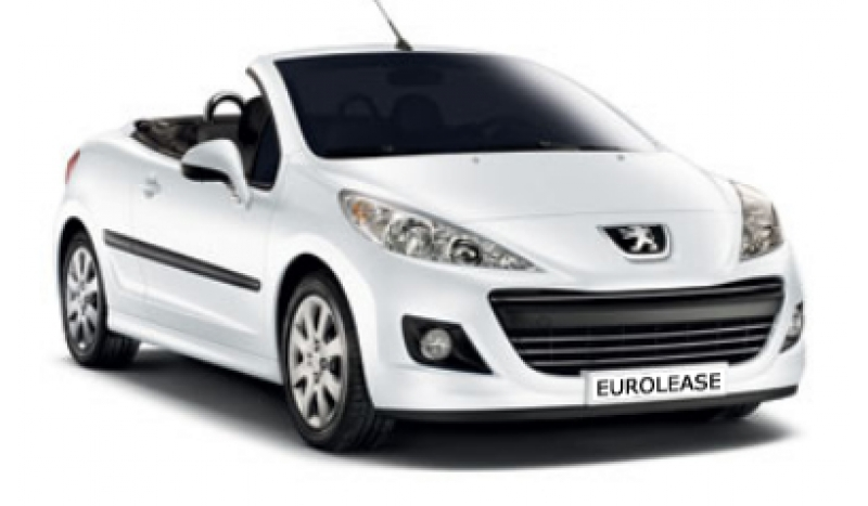 Peugeot 207cc 1.6VTi Active 2dr No Desposit Personal Leasing