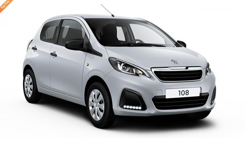 Peugeot 108 1.0 5dr Active No Deposit Personal Leasing